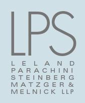 Leland, Parachini, Steinberg, Matzger & Melnick LLP